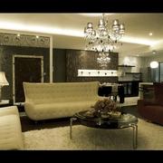 现代风格装修客厅效果