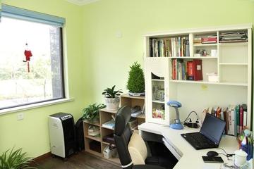 简约小清新住宅欣赏书房书架