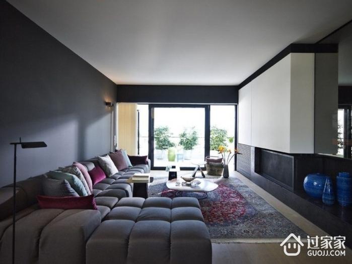 灰色空间现代住宅欣赏