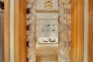185平美式奢华住宅欣赏卧室设计
