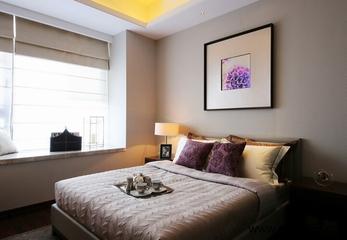 97平新古典住宅欣赏卧室飘窗