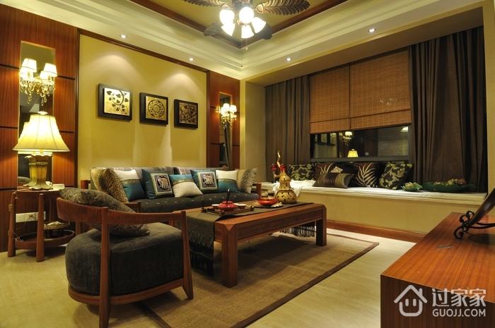 东南亚设计客厅灯饰
