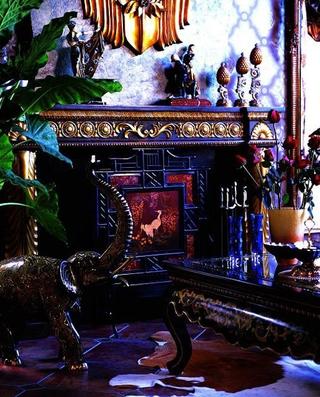 重口味混搭风格欣赏客厅设计