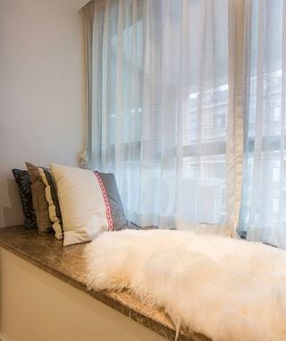宜家风格设计住宅套图书房窗台