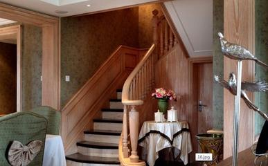 混搭时尚风情住宅欣赏楼梯