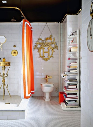 12款清爽卫浴装修设计 让心情飞扬一夏