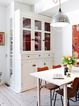 66平小资三口之家欣赏餐厅设计