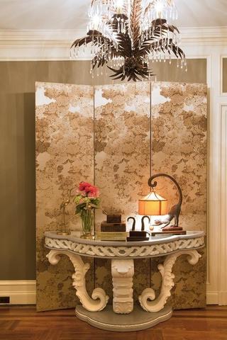 法式风格住宅套图欣赏卧室隔断