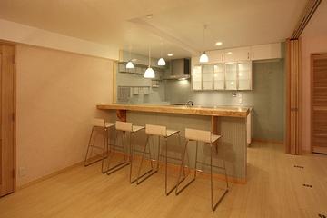 日式温馨三居室欣赏厨房陈设
