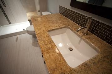 现代别墅装饰设计赏析洗手台设计图