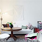 北欧风30平超小空间欣赏客厅