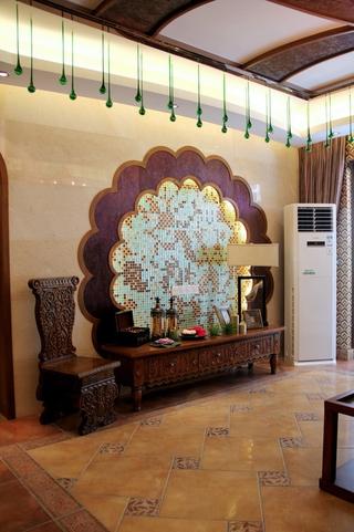 深情东南亚住宅欣赏客厅