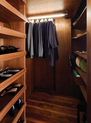 现代多功能区住宅欣赏衣帽间衣柜