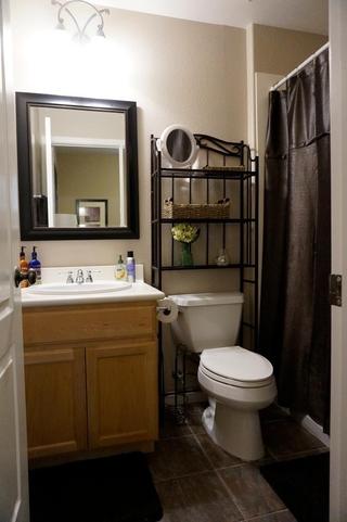 美式别墅装饰效果图卧室卫生间