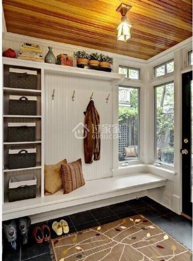 家里超过三个人就应该用这样的鞋柜,再多鞋子都有地方放!