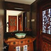 古典风洗手台