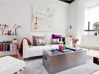 优雅现代复式小空间欣赏