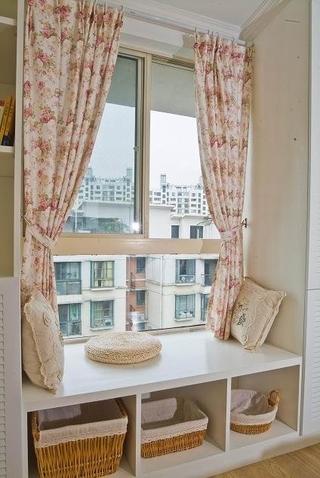 95平清爽日式欣赏卧室局部