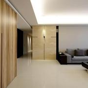 家居现代风效果图背景墙钟饰