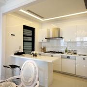 厨房隔断设计效果图 单身美女的家