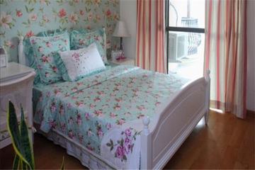蓝色地中海住宅案例欣赏卧室效果