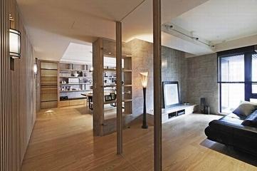 日式风格装饰效果图书房