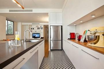 50平简约一居室欣赏厨房吊顶