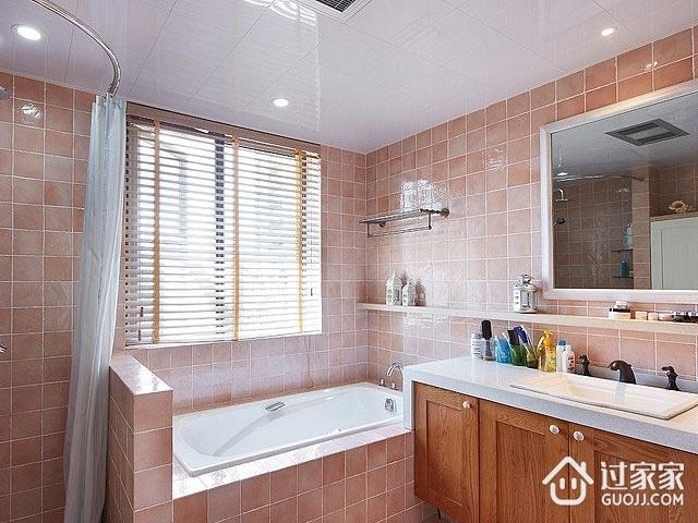 80后简约两居室欣赏卫生间