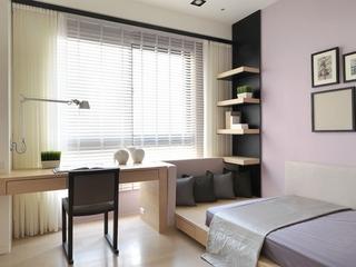 简约家装两居室设计欣赏卧室陈设