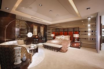 东南亚装修卧室全景