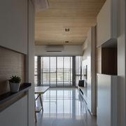 日式淡雅住宅欣赏过道