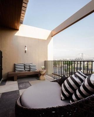 79平现代风复式楼欣赏阳台