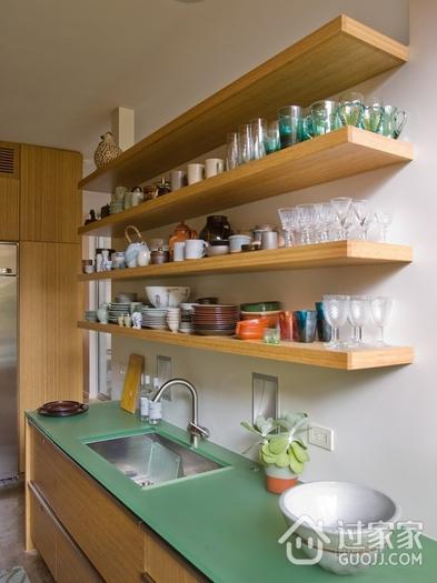 小户型装修厨房墙面收纳三大技巧