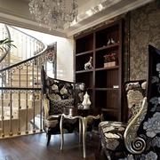 新古典别墅设计储物架