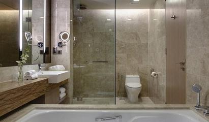 混搭风格效果图复式欣赏卫生间