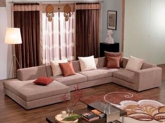 简约春天气息住宅欣赏客厅窗帘