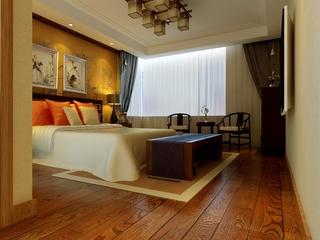 新中式雅居住宅欣赏卧室