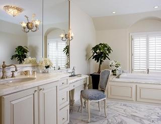 轻奢欧式风格住宅套图卫生间