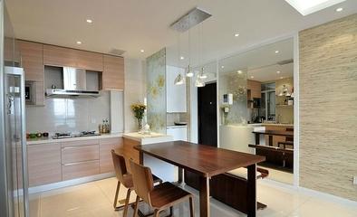 76平简约时尚住宅欣赏厨房