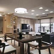简约流程空间住宅欣赏餐厅设计