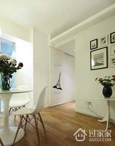 82平现代婚房两居室欣赏餐厅餐桌