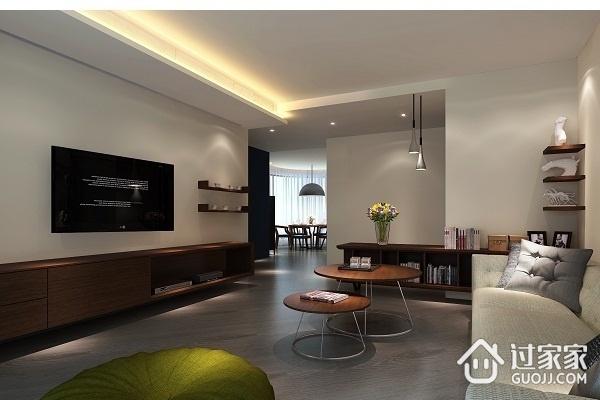 77平灰色现代住宅欣赏
