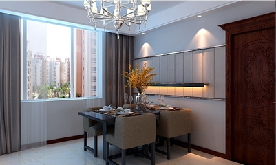 现代风三居室欣赏餐厅