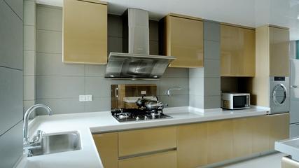 现代风格样板间套图厨房