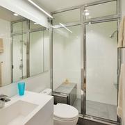 38平巧装简约一居室欣赏卫生间
