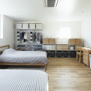 112平日式风格住宅欣赏卧室效果图