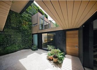 都市森林现代别墅欣赏庭院设计