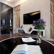 简约客厅背景墙装修效果图 打造美好家装效果