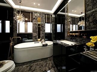 新古典样板间设计欣赏卫生间