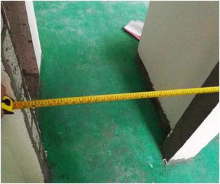 监理版验收节点2:室内门测量